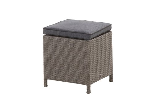 "Hohe Dining Poly Rattan Lounge ""Havanna"" inkl. Kissen - 5"