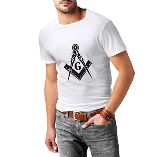 Männer T-Shirt Freimaurer (Freemasons) – zubehör für Herren mit dem symbole