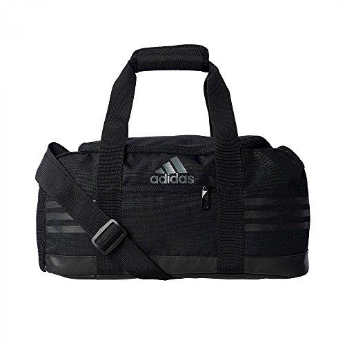 adidas Sporttasche 3 Stripes Performance Teambag XS, schwarz, 40 x 20 x 18 cm, 14 Liter, AK0002
