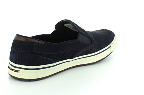 Rockport Path To Greatness Slip On Hommes Cuir Mocassin New Dress Blues