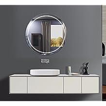 Suchergebnis auf Amazon.de für: badspiegel rund | {Spiegel mit beleuchtung rund 21}