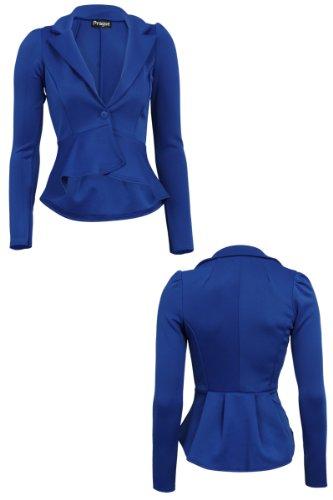 Exclusif De Vente Femme Azul My1stwish Real Tailleur Veste Offres HqtFZ