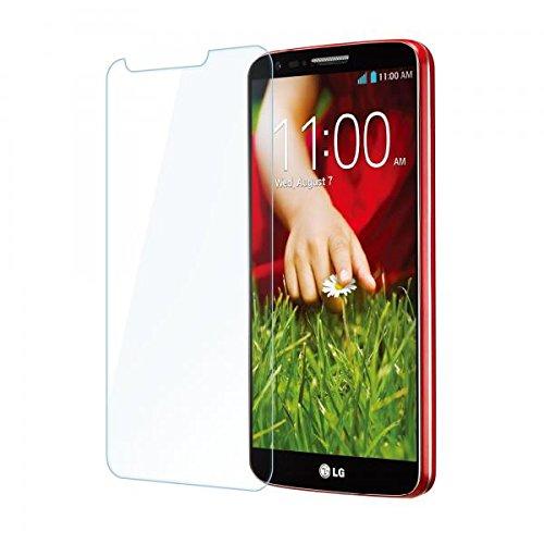 ECENCE 1x Panzerfolie 3D Touch Schutzglas Echt Glas kompatibel für LG G2 D802 0.33mm dick 9H Tempered Glass 44040401
