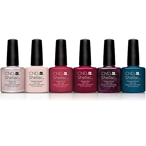 CND Shellac - Collection Contradictions - 6 Vernis à Ongles Gel Professionnel