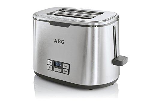 AEG-Toaster-PremiumLine-7Series-AT-7800-HighContrast-LCD-Display-Countdown-Toasten-7-Brunungsgrade-Brtchenaufsatz-2-Scheiben-Edelstahl