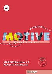 Motive A1: Kompaktkurs DaF.Deutsch als Fremdsprache / Arbeitsbuch, Lektion 1–8 mit MP3-Audio-CD
