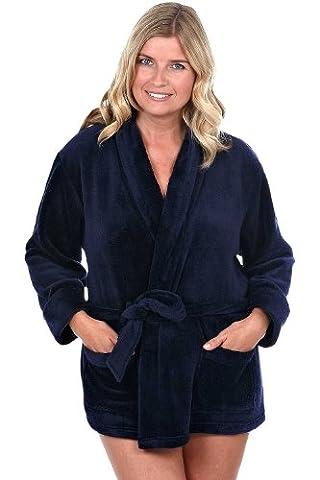 Cameo Ladies Fashion Nightwear - Robe de chambre - Femme - bleu - 42/44