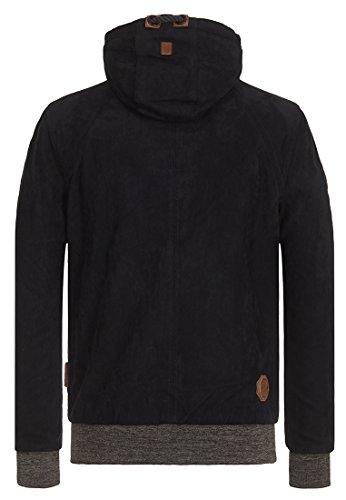 Naketano Male Jacket Muzzy Night Fever Black