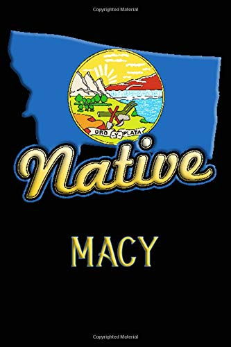 Montana Native Macy: College Ruled | Composition Book