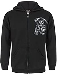 Hombres - Official - Sons Of Anarchy - Capucha (M)