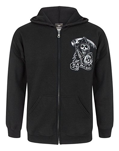 Hommes - Official - Sons Of Anarchy - Sweat À Capuche (XL)
