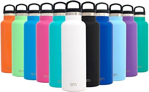 Simple Modern Ascent 600ml Botella De Agua - Acero Inoxidable 18/8, Doble...