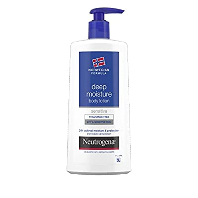 Neutrogena Norwegian Formula Deep Moisture Body Lotion Dry and Sensitive Skin 400ml from Johnson and Johnson
