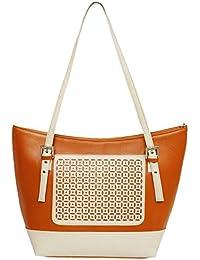 Classic Fashion Womens Brown Color Handbag