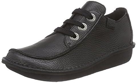 Clarks Funny Dream, Women's Lace-Up Shoes - Black, 6 (Scarpe Clarks Donna)