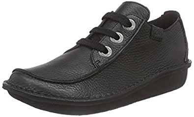 Clarks Funny Dream Women's Lace-Up Shoes  - Black, 3 UK