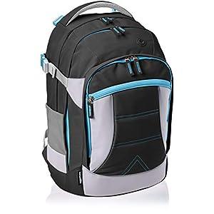 Amazon Basics – Ergonomischer Rucksack (Schwarz, 30 Liter)