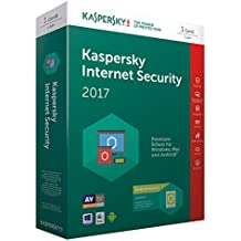 Kaspersky Internet Security 2017 | 1 Gerät + 1 Android Gerät  | 1 Jahr | PC/Mac/Android | Download