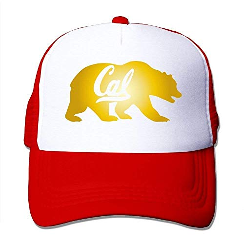 But why miss UC Berkeley Cal Golden Bears Mesh Trucker Caps/Hats Adjustable for Unisex Black -