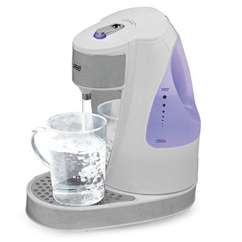 Express-Wasserkocher - Quigg Tee-Kocher (1,5Liter Wasserbehälter, starke 3000Watt, kabellos, Farbe: weiß) (Wasserkocher Eine Tasse)