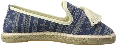 Tamaris Damen 24606 Slipper Blau (DENIM COMB 853)