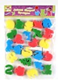 Kids Childrens Art Craft Animal Shapes Paint Sponges