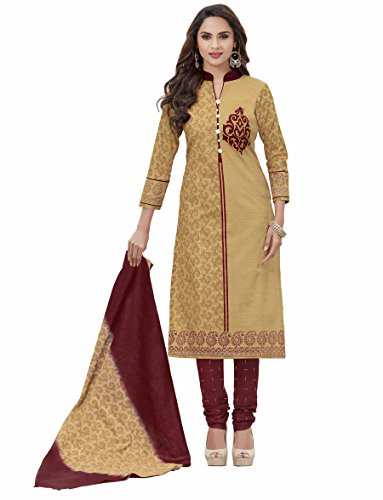 Miraan Printed Unstitched Cotton Dress Material And Churidar Suit For Women (N8004)