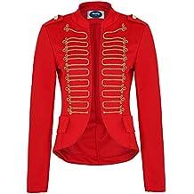 Uniformjacke damen rot