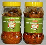 #8: HARSHAMAN DRY MANGO PICKLE (COMBO) 400gms