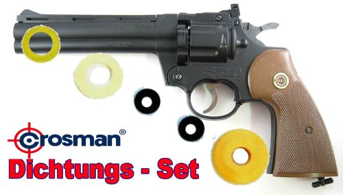 Crosman Ersatzteile / CO2 Revolver 357 Dichtungs-SET. Kal.4,5 mm Dichtungs-SET. (Crosman Co2)