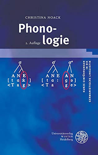 Phonologie (Kurze Einführungen in die germanistische Linguistik - KEGLI 10)