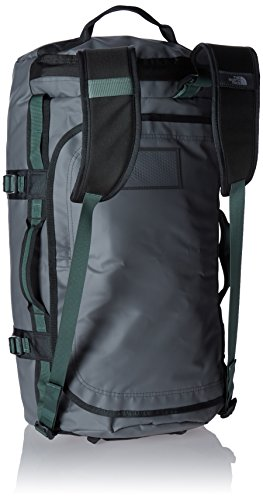 The North Face Unisex Base Camp Backpack, Zinc Grey/Duck Green, Large
