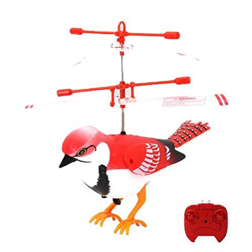 EisEyen Spatz Vogel Mini LED RC Fliegendes Flugzeuge -