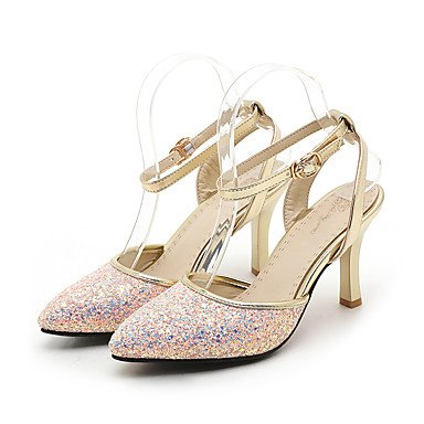 LvYuan Da donna-Sandali-Matrimonio Formale Serata e festa-Altro Club Shoes D'OrsayFinta pelle-Nero Rosa Bianco Black