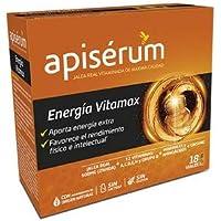 Apisérum Vitamax Viales Bebibles - Jalea Real, Vitaminas, Minerales, Aminoácidos, Ginseng -