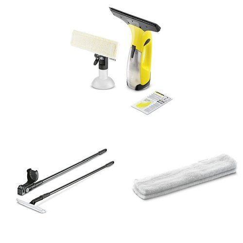 karcher-wv2-plus-window-vac-with-extension-pole-and-extra-micro-fibre-cleaning-cloths-for-extention