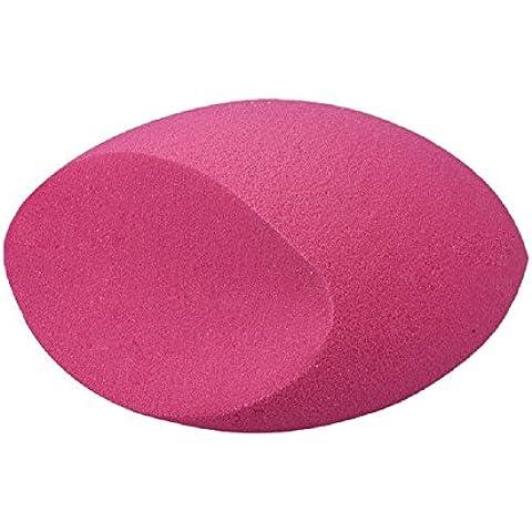 Ularma 2016 en forma de huevo hojaldre suave belleza maquillaje esponja polvo Fundación conforman conjuntos (color de rosa caliente)