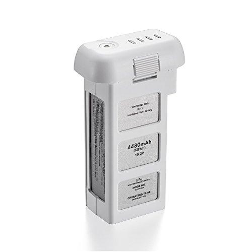 Powerextra Phantom 3 Series 15,2 V 4480mAh LiPo Batterie Intelligente pour DJI Phantom 3 Standard Advanced Professionnel et 4k Drones