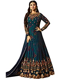 ac7746df50 Amazon.in  Anarkali - Dress Material   Ethnic Wear  Clothing ...