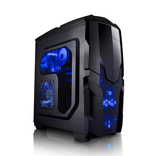 Megaport 8-Kern Gaming-PC Vollausstattung AMD FX-8300 8x4.20 GHz Turbo • GeForce GTX1070 8GB • 16GB DDR3 • 1TB • Windows 10 • Gamer PC • Gaming Computer • Desktop PC • Gamer Computer • Rechner