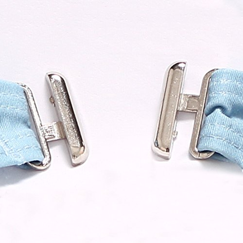 PU&PU Frauen-Strand-Bänder Bikinis Zwei-Stück-Set Badeanzug-Bandage-Druck-Patchwork Drahtloser gepolsterter BH Light Blue