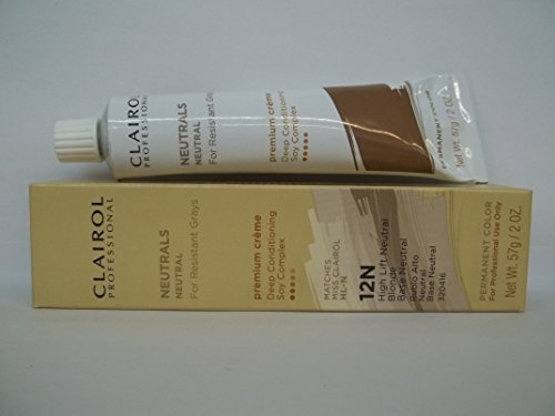Clairol Blonde Lift (Clairol Professional Permanent 12N High Lift Neutral Blonde by Clairol)