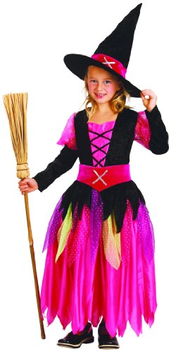 Déguisement sorcière fille Halloween 6 à 8 ans