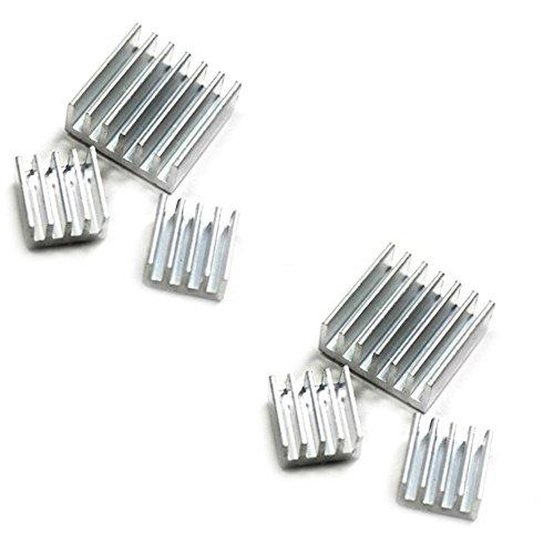 com-four-lot-de-2-x-3-dissipateurs-de-chaleur-passifs-en-aluminium-avec-surface-adhesive-pour-raspbe