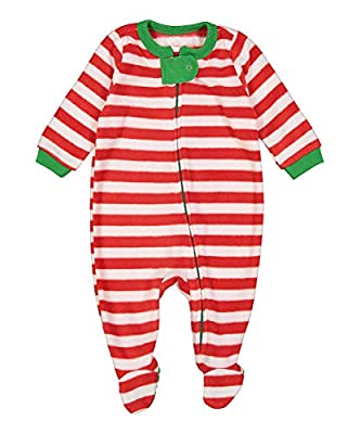 elowel   Pijama Unisexo   Ropa De Dormir De Lana Caliente  1 Pieza   Pijama De Pie   Cálido Y Tierno   Tamanos Disponibles: 6m, 12-18m 18-24 M, 2-5 Anos   Múltiples Disenos Y Colores   100% Poliéster