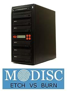 Systor 1-5 24X SATA M-Disc CD DVD Burner Replication Recorder Multiple Duplicator