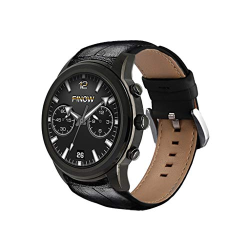 WJSEIF Sportuhr Android 5.1 3g Bluetooth smartwatch für andorid/ios air smart Watch ram 2 gb/rom 16gb Quad core watchphone für Mann, schwarz (Ram 2gb Smartphone-chinesischen)