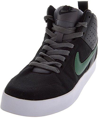 Nike Men's Liteforce Black, George Green, White and Dark Grey Sneakers - 9 UK/India (44 EU)