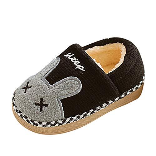 MEIbax Baby mädchen Jungen Winterhaus Pantoffel Karikatur warme zuhause Boden Schuhe