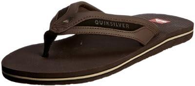 Quiksilver Swell KMMSL403 - Chanclas de cuero para hombre